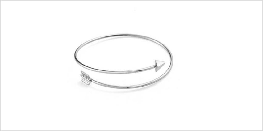 £3.99 instead of £15.99 for a Philip Jones arrow bangle – choose from two colours from Silver Supermarket Ltd - save 75% from Wowcher