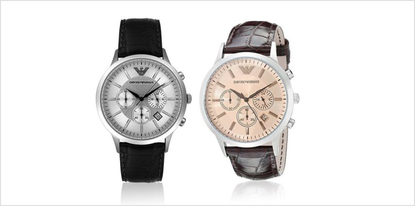 £99 instead of £279 (from Ticara Watches) for an Emporio Armani chronograph watch - save 65% from Wowcher