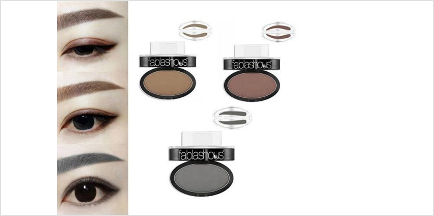 £6 instead of £29.99 for an eyebrow stamp - choose from three colours from Forever Cosmetics - save up to 80% from Wowcher
