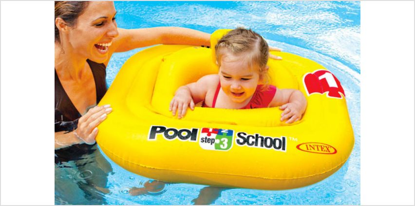 £8.99 instead of £13 (from STC Stores) for a baby pool float - save 31% from Wowcher