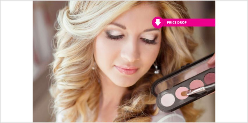 £9 instead of £99 for an an online bridal & special occasions makeup from International Open Academy - save 91% from Wowcher