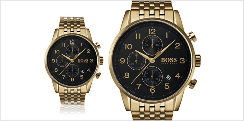 £139 instead of £322.01 (from Best Watch Company) for a Hugo Boss Navigator chronograph men's watch - save 57% from Wowcher