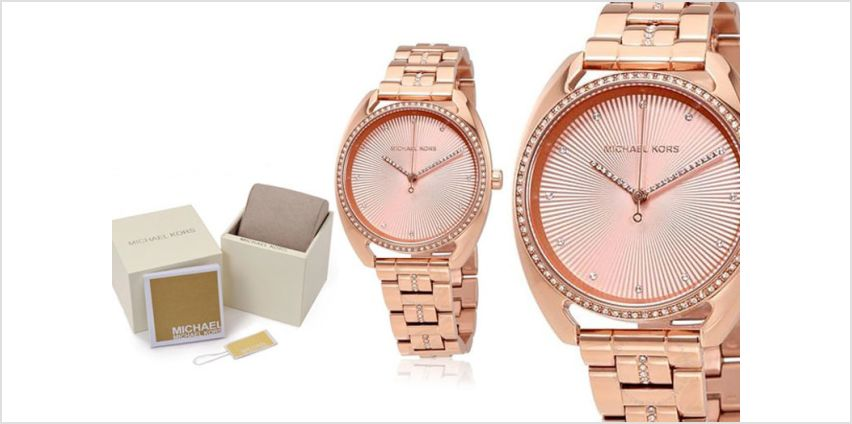 £109 instead of £249 (from Best Watch Company) for a Michael Kors MK3677 Libby ladies rose gold-tone watch - save 56% from Wowcher