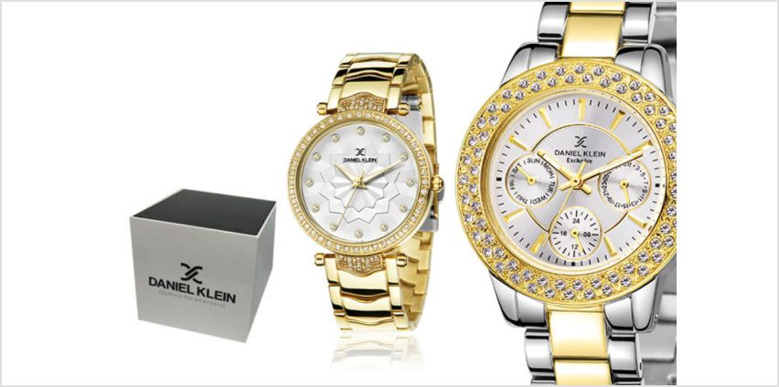 £19.99 instead of £74.01 (from Brand Arena) for a ladies Daniel Klein watch - choose between 17 designs and save up to 73% from Wowcher