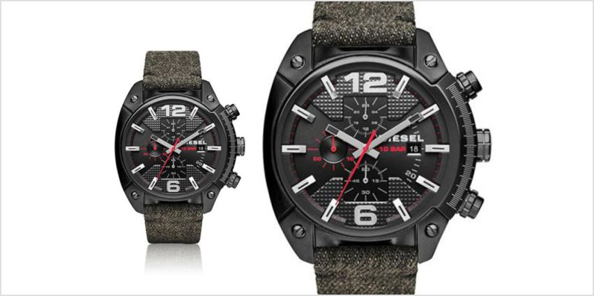 £85 instead of £179 (from Ticara Watches) for a men's Diesel Overflow watch - save 53% from Wowcher
