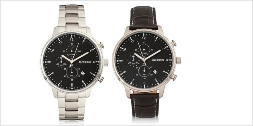 £59 (from Breed Watches) for a luxury Holden men's watch - choose from five designs and save up to 86% from Wowcher