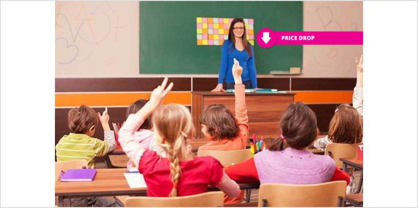 £39 instead of £899 for an online teaching diploma course from New Skills Academy - save 96% from Wowcher