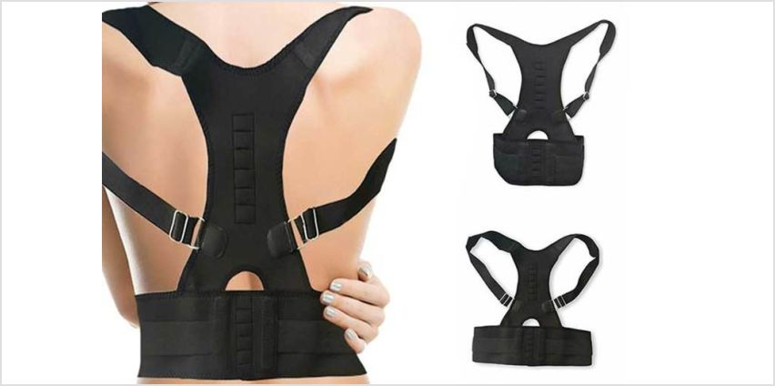 £6.98 instead of £16.99 (from Avant Garde) for an adjustable back support –save 59% from Wowcher