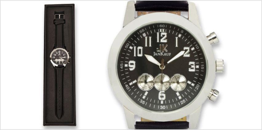 £39 instead of £299 (from Jan Kauf) for a Jan Kauf JK1035 men's watch - save 87% from Wowcher