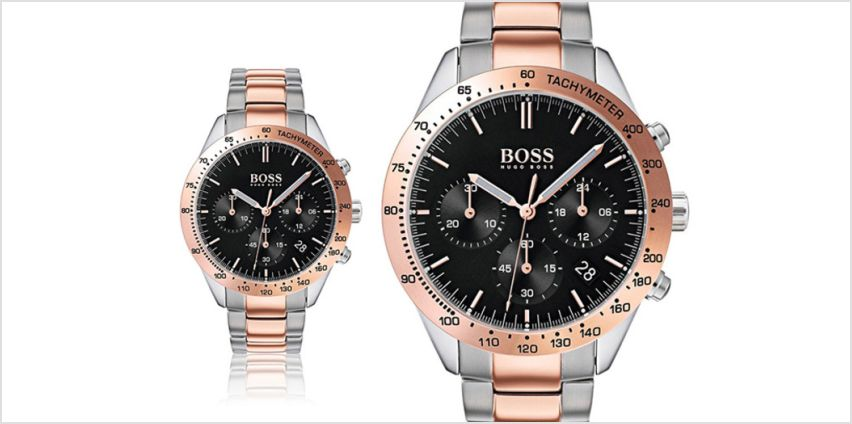 £179 instead of £399 (from Ticara Watches) for a mens Hugo Boss 1513584 Talent watch - save 55% from Wowcher