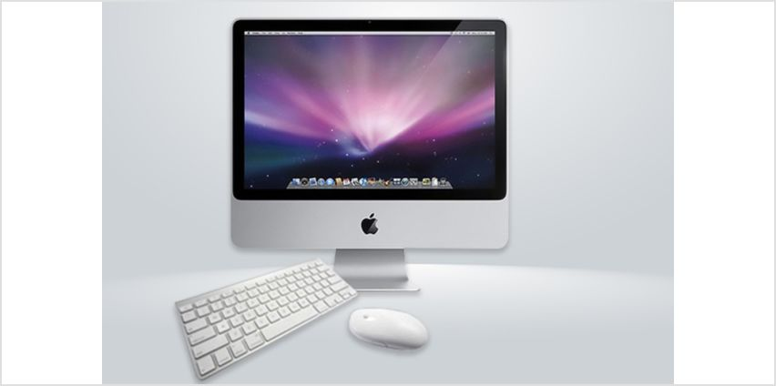 """£199 instead of £599 (from Megamax) for a refurbished 20"""" Apple iMac - save 65% from Wowcher"""