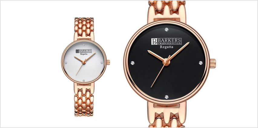 £59 instead of £310.01 (from Barkers of Kensington) for a ladies' Regatta watch –choose from two colours and save 81% from Wowcher