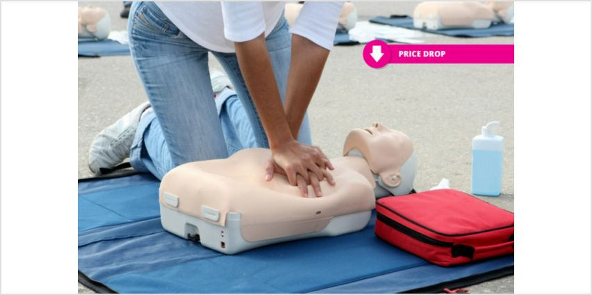 £16 instead of £119 for a cpr & first aid course - cpd certified from International Open Academy - save 87% from Wowcher