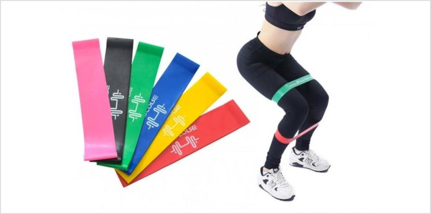 £4.99 instead of £19.99 (from YelloGoods) for a set of six exercise resistance bands - save 75% from Wowcher