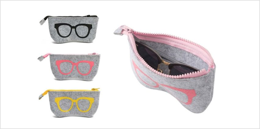 £2.95 instead of £9.99 (from Litnfleek) for a glasses bag, £4.95 for two bags or £7.95 for three - save up to 70% from Wowcher