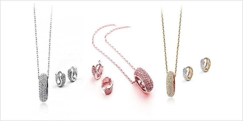 £12 instead of £49.99 (from Victoria's Candy) for a Sirius jewellery set made with crystals from Swarovski ® - save 76% from Wowcher