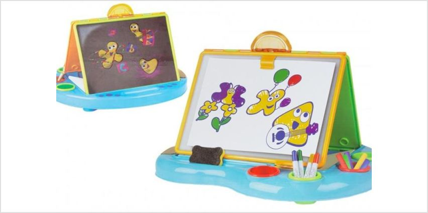 £10.95 instead of £38.99 for a cbeebies 2 in 1 art desk from Avant-Garde Brands Ltd - save 72% from Wowcher