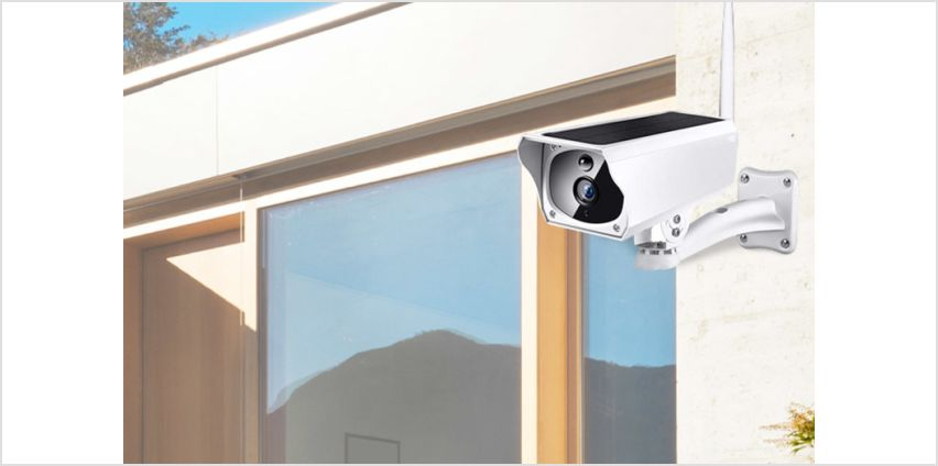 £99.99 instead of £166.04 (from Ener-J) for a solar-powered WiFi-enabled security camera - save 40% from Wowcher