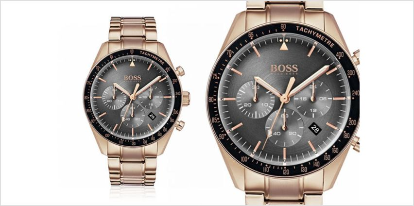 £139 instead of £392.01 (from Hip Watches) for a Hugo Boss Trophy men's watch - save 65% from Wowcher