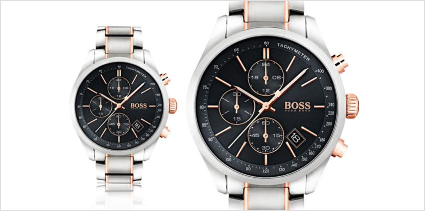 £149 instead of £419 (from Hip Watches) for a men's HB1513473 Hugo Boss Grand Prix watch - save 64% from Wowcher