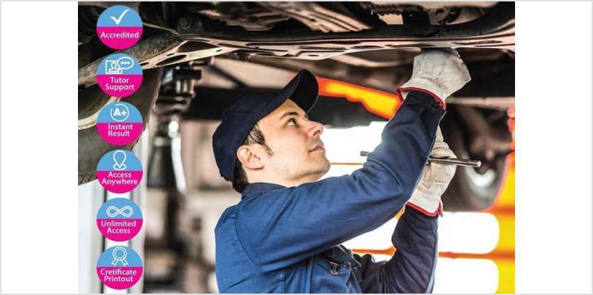 £12 instead of £199 for a car mechanic online course from Alpha Academy - save 94% from Wowcher