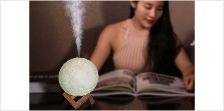 £9.99 instead of £27 (from Secret Storz) for a moon lamp air humidifier - save 63% from Wowcher