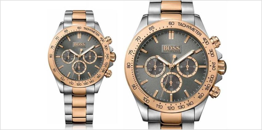 £129 instead of £399 (from Hip Watches) for a Hugo Boss men's Ikon two-tone watch - save 68% from Wowcher