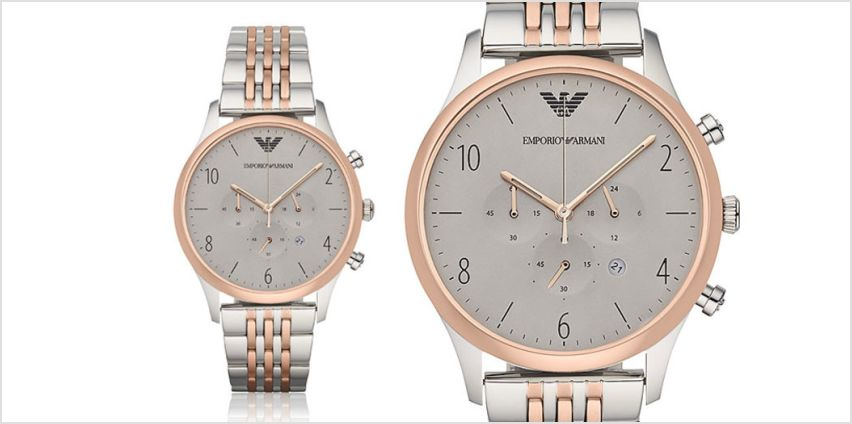 £129 instead of £250 (from Cheap Designer Watches) for an Emporio Armani AR1864 men's watch - save 48% from Wowcher