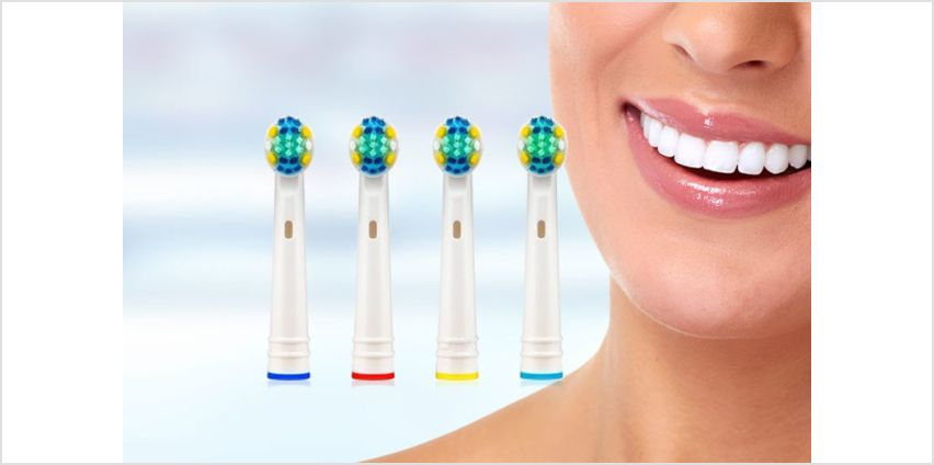 £14.98 instead of £239.98 (from WowWhatWho) for a 48-pack of Oral B-compatible toothbrush heads - save 94% from Wowcher