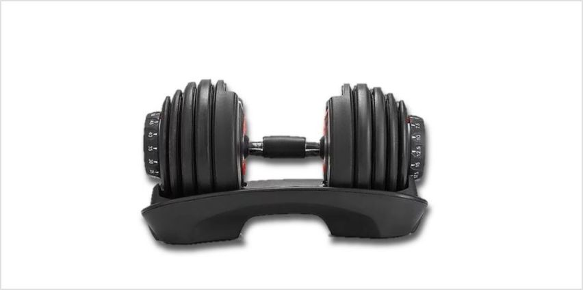 From £99 for a 24kg adjustable dumbbell from Happydealz LTD - save up to 75% from Wowcher