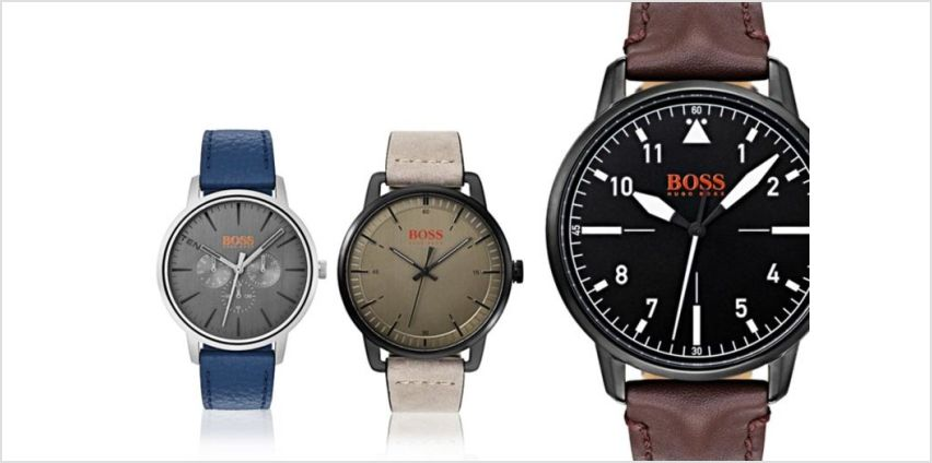 From £79 instead of £134.01 (from Brand Arena) for a Hugo Boss Orange men's watch - save 41% from Wowcher