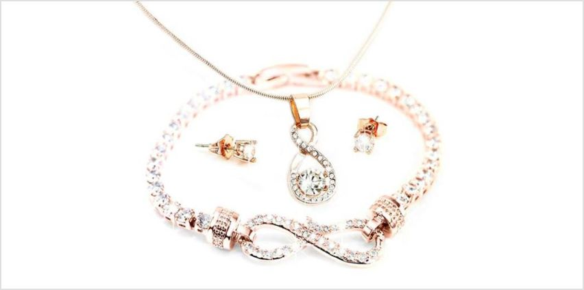 £14 (from Victoria's Candy) for a three piece Canis jewellery set – choose from two colours from Wowcher