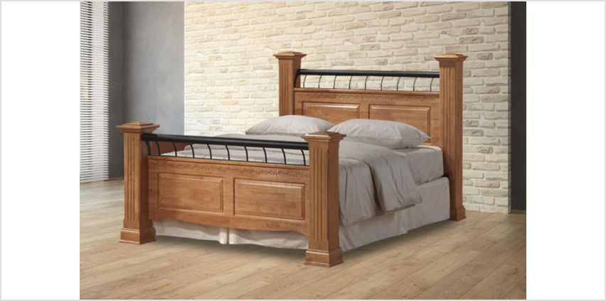 From (from The Furniture Department) for a wooden Rolo bed - choose from two sizes from Wowcher