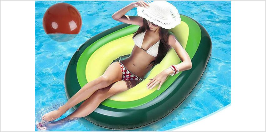 £14 instead of £39.99 (from Litnfleek) for an avocado inflatable float - save 65% from Wowcher
