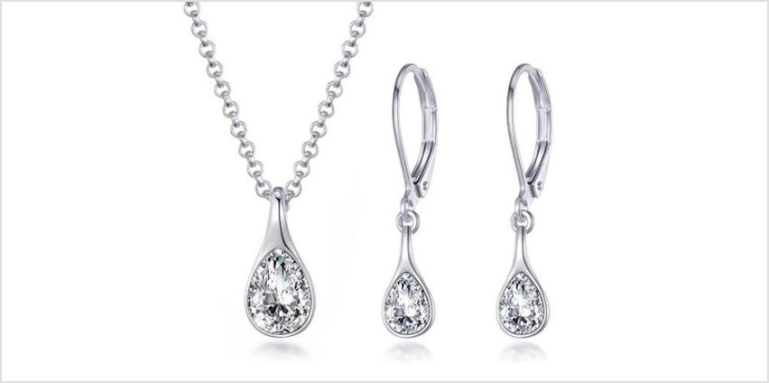 £11.99 instead of £24 (from Philip Jones) for a raindrop jewellery set - save 50% from Wowcher