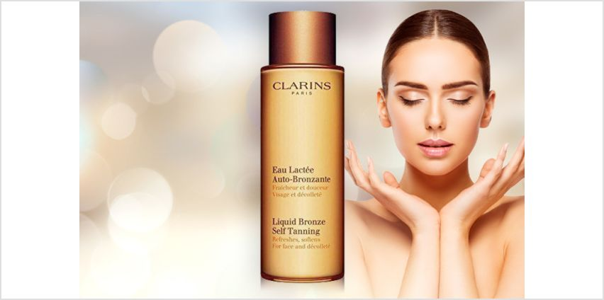 £14.50 instead of £21 (from Avant Garde) for a 125ml bottle or Clarins Paris liquid bronze self-tan - save 31% from Wowcher