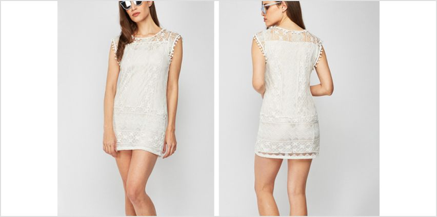 £4.99 instead of £16 (from Cascabelle) for a white lace dress - save 69% from Wowcher