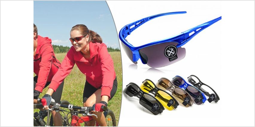 £2.99 instead of £19.99 for a pair of protective sport glasses from Wow What Who - save 85% from Wowcher