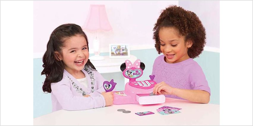 £14.99 instead of £25.99 (from Dream Price Direct) for a pink Minnie Mouse cash register toy - save 42% from Wowcher