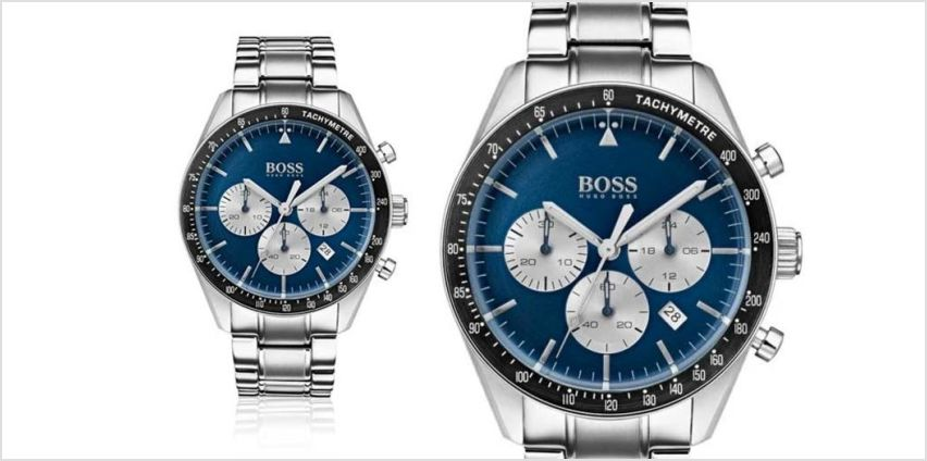 £139 instead of £396 (from BestWatchCompany) for a Hugo Boss chronograph watch – save 65% from Wowcher