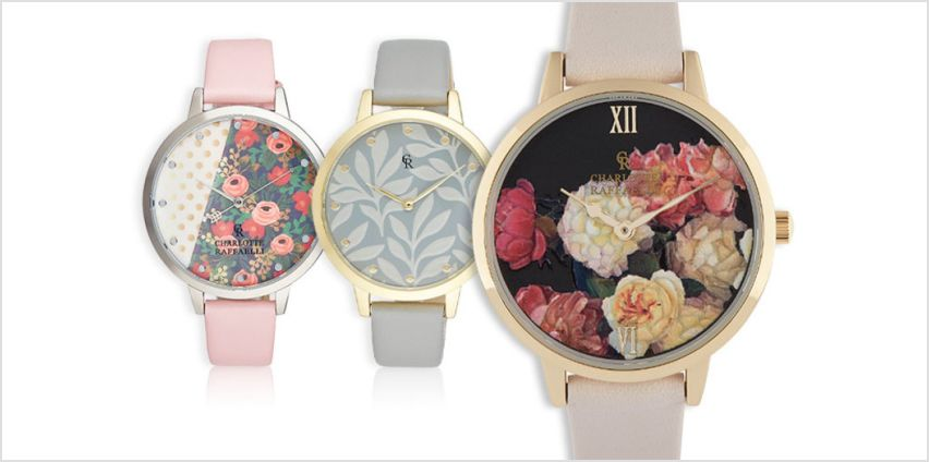 From £19.99 instead of £94.01 (from Brand Arena) for a ladies Charlotte Raffaelli floral summer watch – save up to 79% from Wowcher