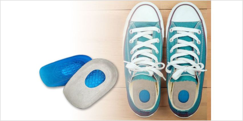 £3.99 instead of £19.99 (from Hey4Beauty) for a pair of silicone shoe support pads - save up to 80%! from Wowcher