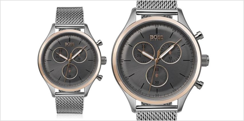 £139 instead of £199 (from Best Watch Company) for a men's Hugo Boss Companion chronograph watch - save 30% from Wowcher