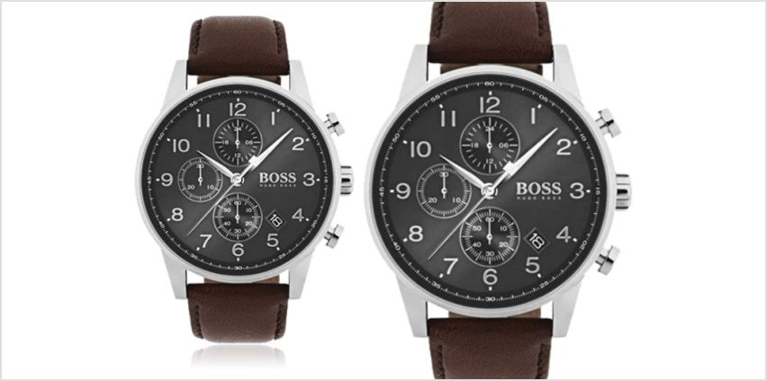 £139 instead of £346 (from Best Watch Company) for a men's Hugo Boss Navigator watch - save 60% from Wowcher