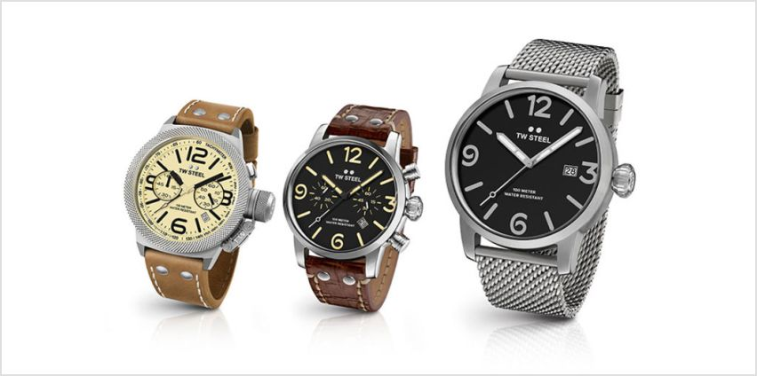 From £65 instead of £220.01 (from Brand Logic) for a TW steel men's watch - save up to 70% from Wowcher