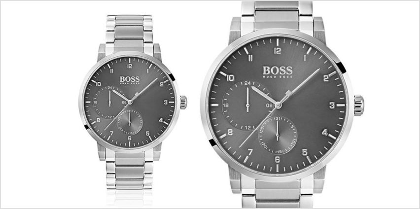 £139 instead of £346 (from The Best Watch Shop) for a men's Hugo Boss HB1513596 oxygen stainless steel watch - save 60% from Wowcher