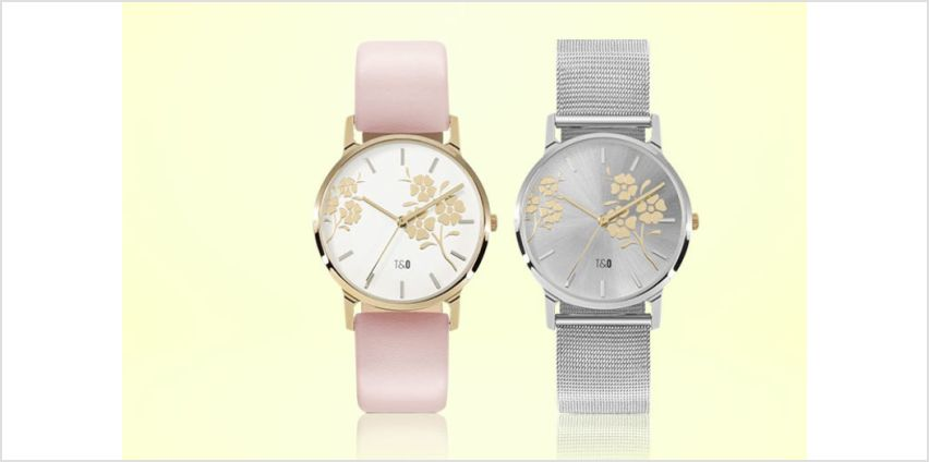 From £14 (from Tick & Ogle) for a Bloom ladies watch - choose from 10 designs and save up to 63% from Wowcher