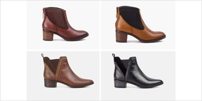 £32.99 instead of £91.01 (from Redfoot Shoes) for a pair of laies' elasticated leather ankle boots - save 64% from Wowcher