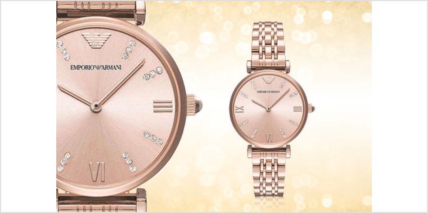£105 instead of £332.01 (from Cheap Designer Watches) for an Emporio Armani AR11059 watch - save 69% from Wowcher