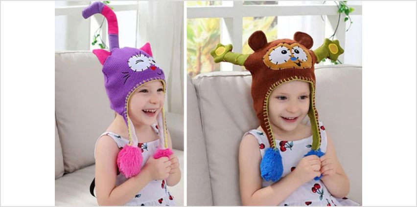 £5.99 (from Litnfleek) for a baby animal squeezy hat  from Wowcher
